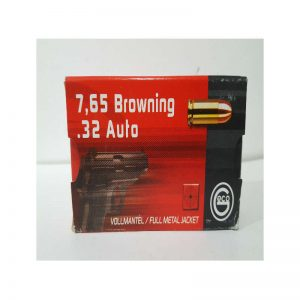 cartouche 7 65 BROWNING 32 Auto