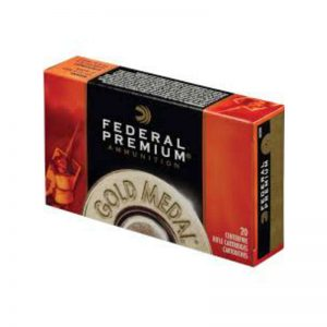 cartouche FEDERAL PREMIUM Gold Medal 168gr