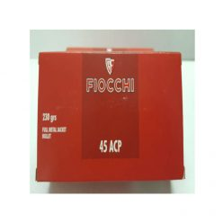 cartouche FIOCCHI cal. 45 ACP 230 grs