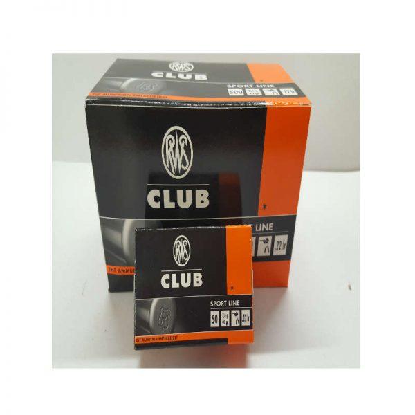 cartouche RWS CLUB cal .22 LR