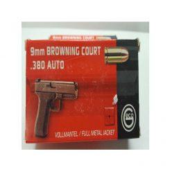 cartouche GECO 9mm BROWNNG COURT 380 AUTO