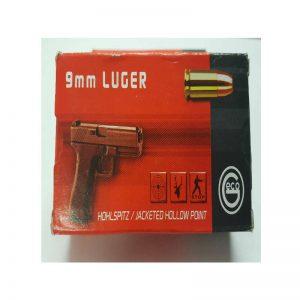 cartouche GECO cal. 9mm LUGER