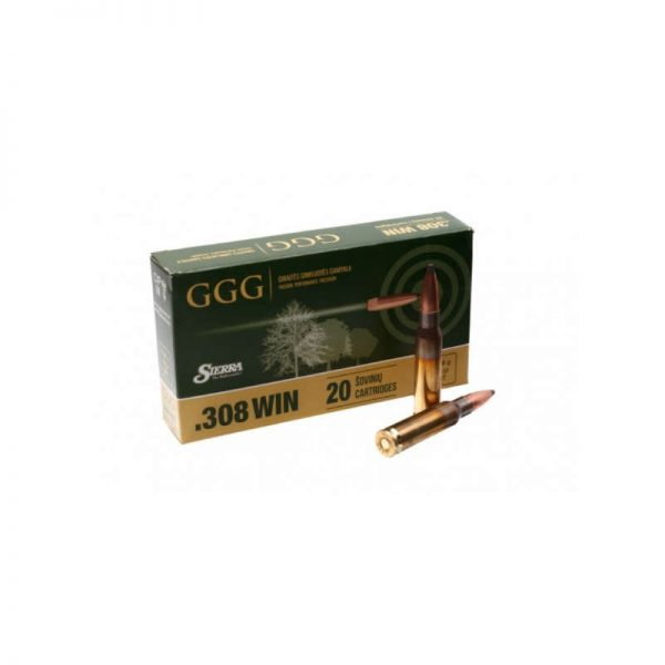 cartouche GGG cal 308 Win