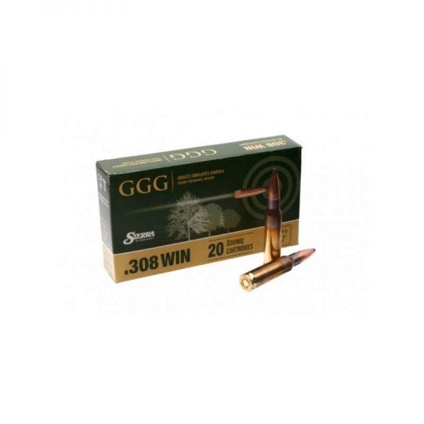 cartouches GGG cal 308 Win