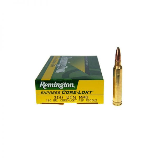cartouche REMINGTON Express CORE LOCKT cal 300 Win Mag