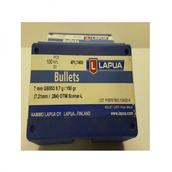 ogive LAPUA 7mm 150 gr