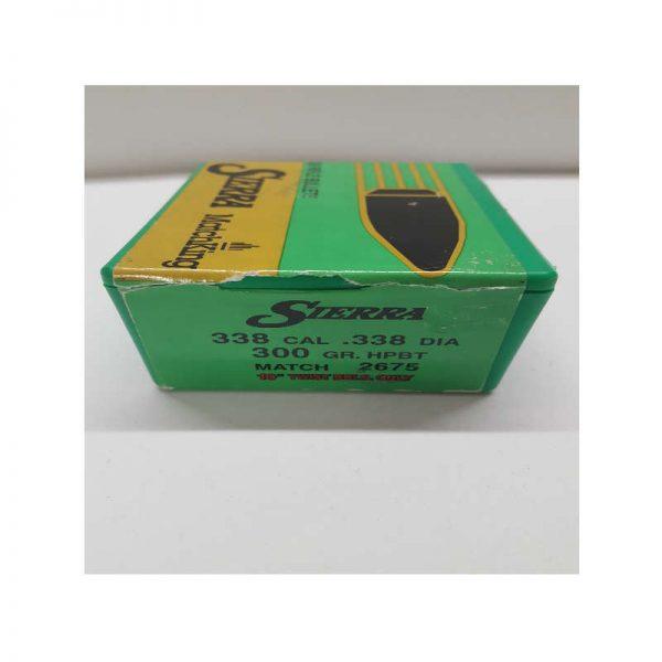 ogive SIERRA 338 cal 300 gr